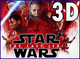 P.WB - Star Wars - The Last Jedi 3D