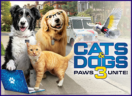 Cats and Dogs - Paws Unite