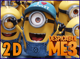 PWB - Despicable Me 3 2D